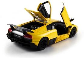Фото 6 к товару Автомобиль радиоуправляемый Meizhi Lamborghini LP670-4 SV 1:18 желтый