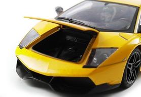Фото 10 к товару Автомобиль радиоуправляемый Meizhi Lamborghini LP670-4 SV 1:18 желтый