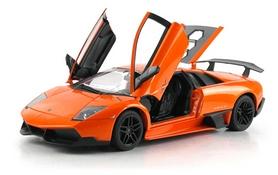 Автомобиль радиоуправляемый Meizhi Lamborghini LP670-4 SV 1:18 оранжевый