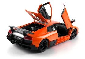 Фото 6 к товару Автомобиль радиоуправляемый Meizhi Lamborghini LP670-4 SV 1:18 оранжевый