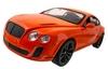 Автомобиль радиоуправляемый Meizhi Bentley Coupe 1:14 оранжевый - фото 1