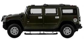 Фото 4 к товару Автомобиль радиоуправляемый Meizhi Hummer H2 1:14 зеленый