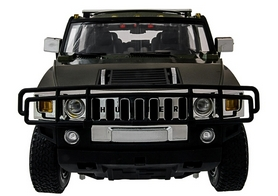 Фото 5 к товару Автомобиль радиоуправляемый Meizhi Hummer H2 1:14 зеленый