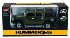 Фото 8 к товару Автомобиль радиоуправляемый Meizhi Hummer H2 1:14 зеленый
