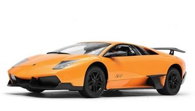 Автомобиль радиоуправляемый Meizhi Lamborghini LP670-4 SV 1:10 желтый