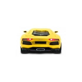 Фото 6 к товару Автомобиль радиоуправляемый Meizhi Lamborghini LP670-4 SV 1:10 желтый