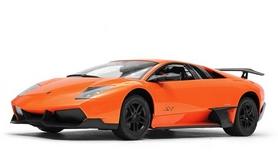 Автомобиль радиоуправляемый Meizhi Lamborghini LP670-4 SV 1:10 оранжевый