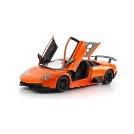Фото 2 к товару Автомобиль радиоуправляемый Meizhi Lamborghini LP670-4 SV 1:10 оранжевый