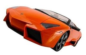 Фото 2 к товару Автомобиль радиоуправляемый Meizhi Lamborghini Reventon 1:10 оранжевый