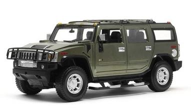 Автомобиль радиоуправляемый Meizhi Hummer H2 1:10 зеленый