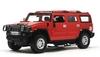 Автомобиль радиоуправляемый Meizhi Hummer H2 1:10 красный - фото 1