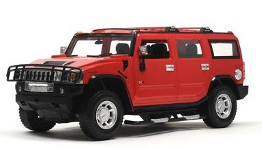 Автомобиль радиоуправляемый Meizhi Hummer H2 1:10 красный