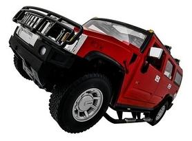 Фото 2 к товару Автомобиль радиоуправляемый Meizhi Hummer H2 1:10 красный