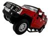 Автомобиль радиоуправляемый Meizhi Hummer H2 1:10 красный - фото 2
