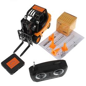 Фото 8 к товару Автопогрузчик радиоуправляемый Forklift 1:20 черный
