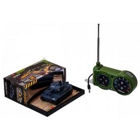 Фото 4 к товару Танк радиоуправляемый Tiger 1:72 микро серый со звуком