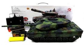 Фото 6 к товару Танк радиоуправляемый Heng Long Leopard II A6 1:16 в металле с пневмопушкой и дымом