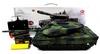 Танк радиоуправляемый Heng Long Leopard II A6 1:16 в металле с пневмопушкой и дымом - фото 6