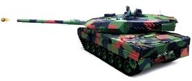 Фото 7 к товару Танк радиоуправляемый Heng Long Leopard II A6 1:16 в металле с пневмопушкой и дымом