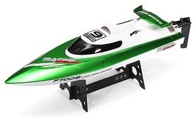 Катер радиоуправляемый Fei Lun FT009 High Speed Boat зеленый