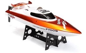 Фото 2 к товару Катер радиоуправляемый Fei Lun FT009 High Speed Boat оранжевый