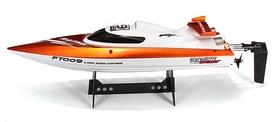 Фото 4 к товару Катер радиоуправляемый Fei Lun FT009 High Speed Boat оранжевый