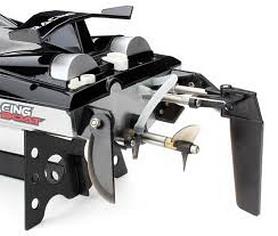 Фото 3 к товару Катер радиоуправляемый Fei Lun FT012 High Speed Boat бесколлекторный черный