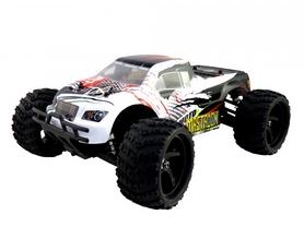 Автомобиль радиоуправляемый Himoto Монстр Mastadon E18MT 1:18 белый