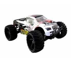 Фото 2 к товару Автомобиль радиоуправляемый Himoto Монстр Mastadon E18MT 1:18 белый