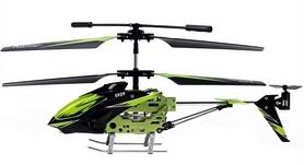 Фото 4 к товару Вертолет на инфракрасном управлении 3-к WL Toys S929 с автопилотом зеленый