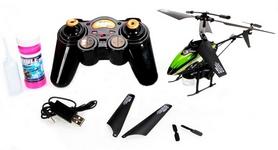 Фото 3 к товару Вертолет на инфракрасном управлении 3-к WL Toys V757 BUBBLE зеленый