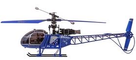 Фото 4 к товару Вертолет радиоуправляемый 4-к WL Toys V915 Lama синий