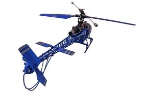 Фото 5 к товару Вертолет радиоуправляемый 4-к WL Toys V915 Lama синий