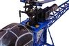 Вертолет радиоуправляемый 4-к WL Toys V915 Lama синий - фото 6