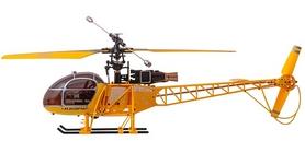 Фото 3 к товару Вертолет радиоуправляемый 4-к WL Toys V915 Lama желтый