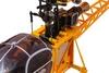 Вертолет радиоуправляемый 4-к WL Toys V915 Lama желтый - фото 5