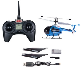 Фото 4 к товару Вертолет радиоуправляемый 4-к Xieda 9938 Maker синий