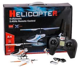 Фото 5 к товару Вертолет радиоуправляемый 4-к Xieda 9928 оранжевый