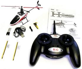 Фото 3 к товару Вертолет радиоуправляемый 4-к Xieda 9958 красный