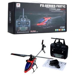 Фото 4 к товару Вертолет радиоуправляемый 4-к Fei Lun FX071C бесфлайбарный