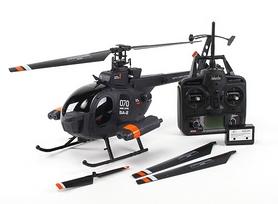 Фото 5 к товару Вертолет радиоуправляемый 4-к Fei Lun MD-500 черный
