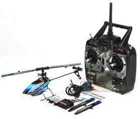 Фото 4 к товару Вертолет радиоуправляемый 3D WL Toys V922 FBL синий