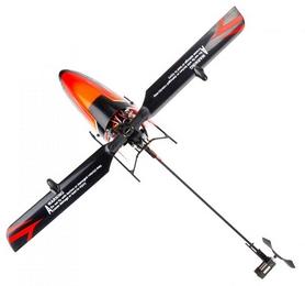 Фото 3 к товару Вертолет радиоуправляемый 3D WL Toys V922 FBL оранжевый