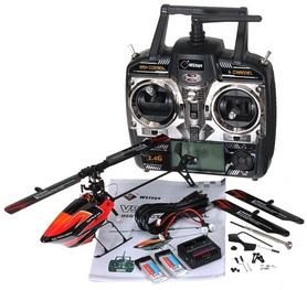 Фото 4 к товару Вертолет радиоуправляемый 3D WL Toys V922 FBL оранжевый