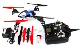 Фото 3 к товару Квадрокоптер радиоуправляемый WL Toys V929 Beetle синий
