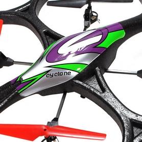 Фото 4 к товару Квадрокоптер радиоуправляемый WL Toys V333 Cyclone 2