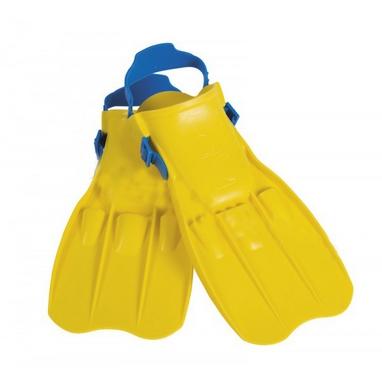 Ласты для плавания с открытой пяткой Intex 55930 желтые