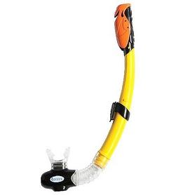 Трубка для плавания детская Intex 55923 желтая