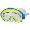 Маска для плавания детская 55911 синяя - фото 1