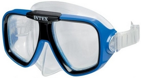 Фото 1 к товару Маска для плавания Intex 55974 синяя